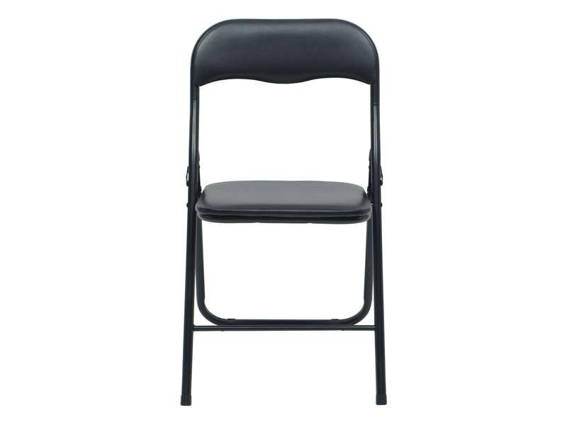 location chaise pliante noire norme erp attachable grenoble. Black Bedroom Furniture Sets. Home Design Ideas