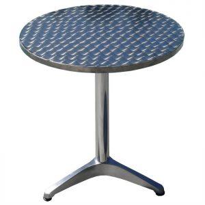 mobilier maison table de bar alu